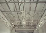 Vpihovalni strop lakirne komore
